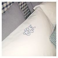pillow case three letter monogram machine embroidery design cushion cover machine embroidery alphabet font