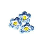 machine embroidery design forget-me-not flower embroidery machine embroidery design npe