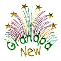 fireworks new grandpa machine embroidery grandparent embroidery art pes hus dst needle passion embroidery npe