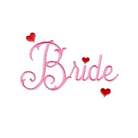 machine embroidery design bride script lettering love wedding heart party relatives art pes hus dst needle passion embroidery npe