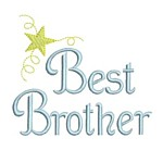 machine embroidery best brother lettering machine embroidery with star from Neelde Passion Embroidery