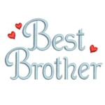 best brother lettering machine embroidery with hearts from Neelde Passion Embroidery