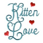 kitten cat machine embroidery design feline art pes hus dst needle passion embroidery npe