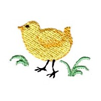 Easter chick needle passion embroidery needlepassion npe ltd machine embroidery design