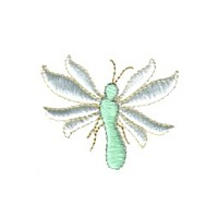 mayfly bug butterfly dragonfly critter insect npe needlepassion needle passion embroidery machine embroidery design designs