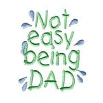 not easy being a dad lettering machine embroidery design mom and dad mum needle passion embroidery npe
