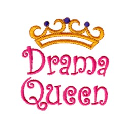 drama queen crown