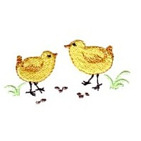 Easter chicks needle passion embroidery needlepassion npe ltd machine embroidery design