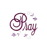 pray lettering machine embroidery religious christian cross religion jesus god design art pes hus dst needle passion embroidery npe