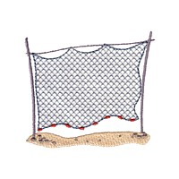 fishing net machine embroidery nautical maritime seaside beach sea swimming fishing design art pes hus dst needle passion embroidery npe