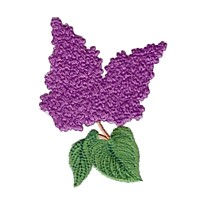 machine embroidery design lilac syringa pansy flower embroidery machine embroidery design npe