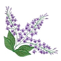 machine embroidery design lilac syringa flower embroidery machine embroidery design npe