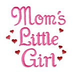mom's little girl machine embroidery design girl girls rule diva girly queen crown confetti lettering text slogan art pes hus dst needle passion embroidery npe