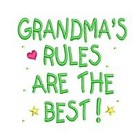 free design to download grandma's rules are the best lettering saying text slogan superhero super hero superman sign logo emblem stitchery machine embroidery design needle passion embroidery needlepassion npe bernina artista art pes hus jef dst designs free sample design with embroidery pack