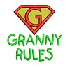 machine embroidery granny rules text slogan lettering saying superhero super hero superman sign logo emblem stitchery machine embroidery design needle passion embroidery needlepassion npe bernina artista art pes hus jef dst designs free sample design with embroidery pack