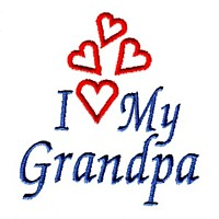 i love grandpa machine embroidery grandparent embroidery art pes hus dst needle passion embroidery npe