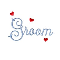 machine embroidery design groom script lettering love wedding heart party relatives art pes hus dst needle passion embroidery npe