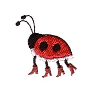 ladybug with high heel shoes machine embroidery design ladybird insect art pes hus dst needle passion embroidery npe