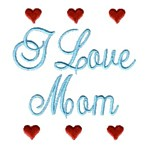 i love mom machine embroidery design mom and dad mum needle passion embroidery npe