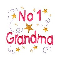 grandma machine embroidery number 1 grandma grandparent embroidery art pes hus dst needle passion embroidery npe
