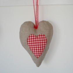 heart applique padded heart hanging ornament made in the machine embroidery hoop lavender filled linen heart needle passion embroidery npe
