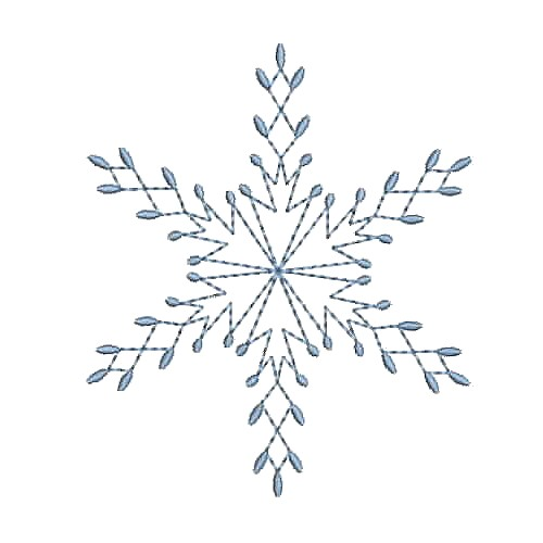 free sample design, snowflake machine embroidery design needle passion embroidery npe