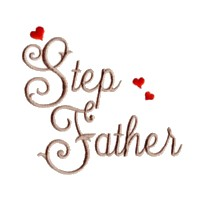 step father script lettering machine embroidery design love wedding heart party relatives art pes hus dst needle passion embroidery npe
