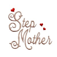step mother scrip lettering machine embroidery design love wedding heart party relatives art pes hus dst needle passion embroidery npe