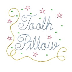 tooth pillow tooth fairy embroidery machine embroidery design needle passion embroidery npe