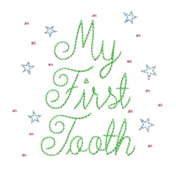 my first tooth fairy embroidery machine embroidery design needle passion embroidery npe