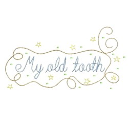 my old tooth fairy embroidery machine embroidery design needle passion embroidery npe