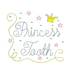 princess tooth fairy embroidery machine embroidery design needle passion embroidery npe
