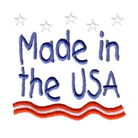 made in the usa lettering text stars stripes machine embroidery design america usa patriotic red blue white stripes 4th july fourth of july independence day art pes hus dst needle passion embroidery npe