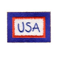 usa badge machine embroidery design america usa patriotic red blue white stripes 4th july fourth of july independence day art pes hus dst needle passion embroidery npe