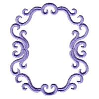 scroll machine embroidery victorian scroll frame border design