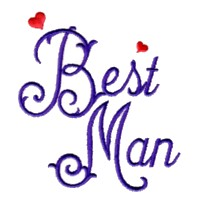 best man script lettering machine embroidery design love wedding heart party relatives art pes hus dst needle passion embroidery npe