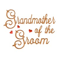 grandmother of the groom scrip lettering machine embroidery design love wedding heart party relatives art pes hus dst needle passion embroidery npe