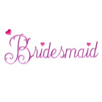 bridesmaid scrip lettering machine embroidery design love wedding heart party relatives art pes hus dst needle passion embroidery npe
