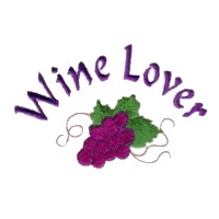 machine embroidery design wine lover beverage alcohol drink grapes grape vine grapevine bottle art pes hus dst needle passion embroidery npe