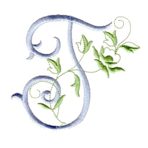 ... t machine embroidery design alphabet script rose leaves scroll abc a b c letter lettering monogram monogramming art